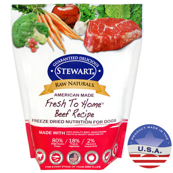 Gimborn Pet Specialties-Raw Naturals Freeze Dried Dog Food- Beef 12 Ounce 402961