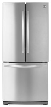 Kenmore 19.5 cu. ft. Bottom Freezer Refrigerator - Stainless Steel