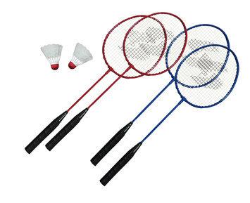 Triumph Sports Sportcraft 4 Player Badminton Racket Set