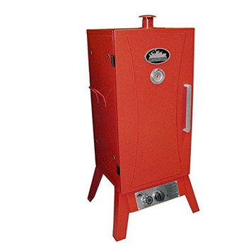 Smokehouse Products 9944-000-0000 Outdoor Gas Smoker Cooker -Wide-Stainless Stee
