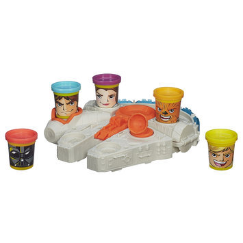 Hasbro Play-Doh Star Wars Millennium Falcon Featuring Can-Heads