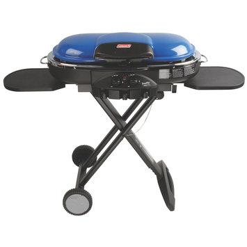 COLEMAN 2000017442 Propane Grill, Portable,47in. L,Blue