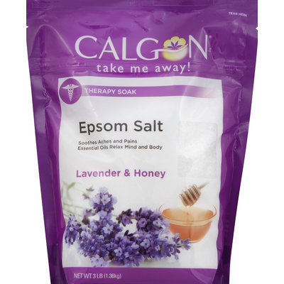 Calgon Epsom Salt, Lavender and Honey, 48 Ounce