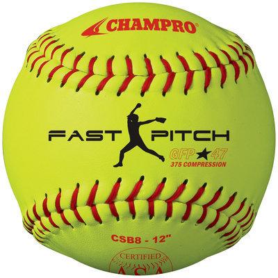 Champro Sports Champro Asa Game Fp Softball Yellow 12In Dz