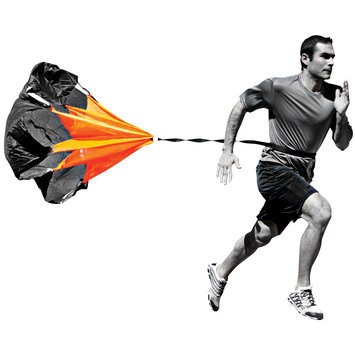 Champro Sports Speed Chute in Black & Orange