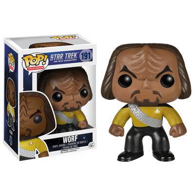 Pop Vinyl Funko Star Trek The Next Generation Worf Pop! Vinyl Figure