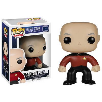 Pop Vinyl Star Trek: The Next Generation Captain Jean-Luc Picard Pop! Vinyl Figure