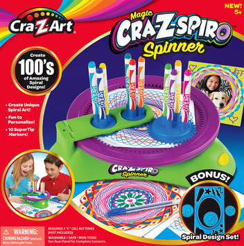 Cra-z-art Pop Color Spiro Spinner