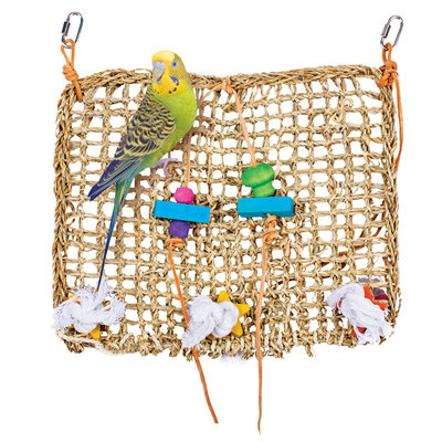 Penn Plax Natural Weave Cage Climbing Exerciser - 13.75 in x 13.75 in