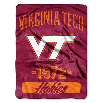 The Northwest Company Virginia Tech Hokies Plush Fleece Throw