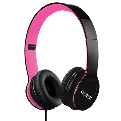 Coby Over-The-Ear Folding Headphones