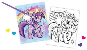 My Little Pony Watercolour Portfolio Set by Fashion Angels