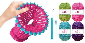 Fashion Angel American Girl Infinity Scarf Knitting Kit