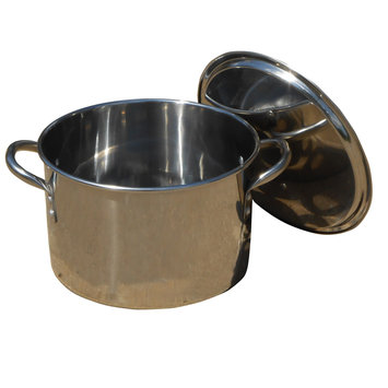 King Kooker Stock Pot with Lid Size: 11