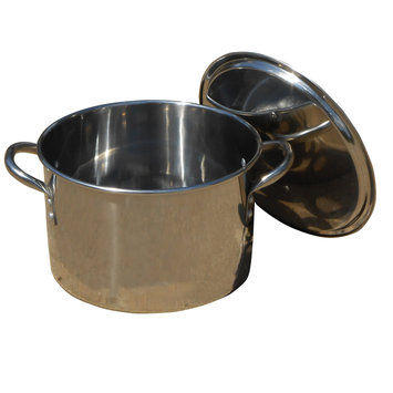 King Kooker Stock Pot with Lid Size: 10.25