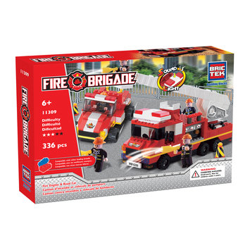 Brmb BRICTEK Fire Engine and with Road Car