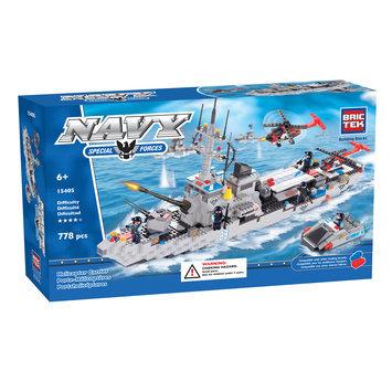 BRICTEK BUILDING BLOCKS 15405 Helicopter Carrier 778pcs BICY5405