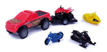 Agglo/ja-ru Corp. 5-Piece Sports Vehicles Play Set
