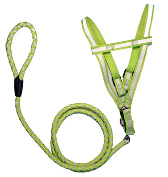 Pet Life LS3ORSM Reflective Stitched Easy Tension Adjustable 2-in-1 Dog Leash an