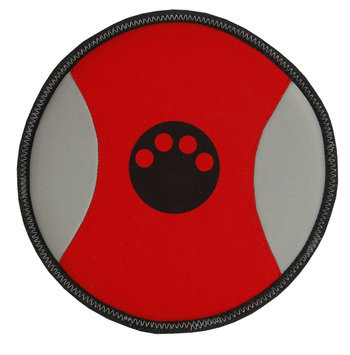 Pet Life DT8RD Active-Life Extreme Neoprene Floatation Frisbee Chew-Tough Dog Toy - Red