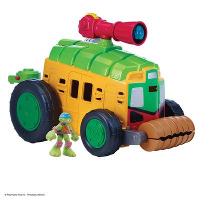 Tnt Media Group Teenage Mutant Ninja Turtles Half-Shell Heroes - Shellraiser with Driver Leo