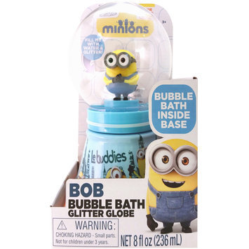 Minions Le Buddies Bubble Bath Glitter Globe, 8 fl oz