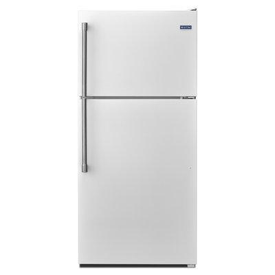 Maytag MRT318FZDH 18.2 Cu. Ft. White Top Freezer Refrigerator
