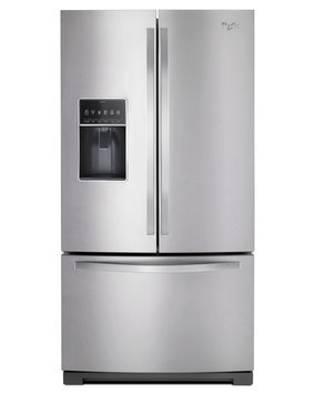 Whirlpool Stainless Steel French Door Bottom Freezer Refrigerator - WRF757SDESS