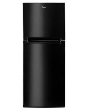 Whirlpool 10.8 Cu. Ft. Top Freezer Refrigerator - Black