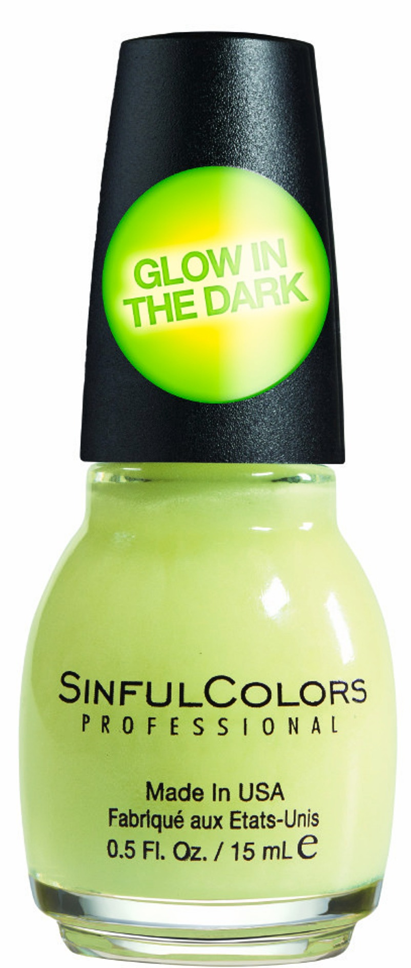 Professional Nail Polish Enamel Glow In The Dark 0.5 Oz.