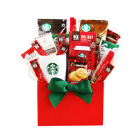Givens Gift Basket, Holiday Coffee And Cheer, 4 Lb