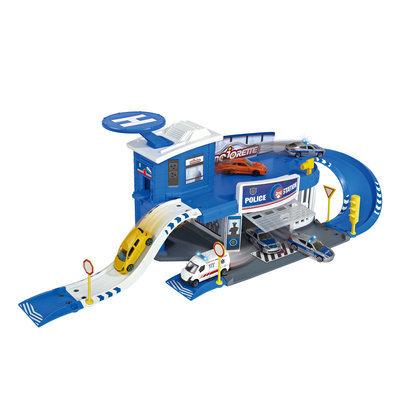 Majorette Creatix Car Police Station Play Set