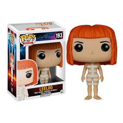 Pop Vinyl The Fifth Element Leeloo with Straps Pop! Vinyl Figure