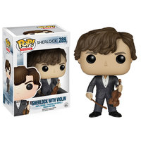 Pop Vinyl Sherlock Holmes with Violin Pop! Vinyl Figure