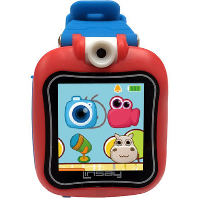 Linsay New 2015 Kids Smartest Watch On Earth with Hd 90 Angle Camera - Blue