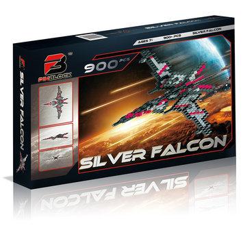 Pinblock Silver Falcon 900-Piece Building Set
