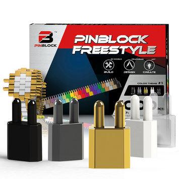 Pinblock Freestyle Color 1000-Piece Building Set
