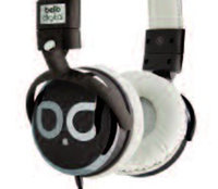 Bello Bell'O Over-Ear Headphones with Microphone - Brown/Tan