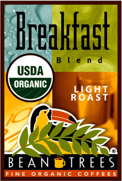 Beantrees Organic Breakfast Blend Ground Coffee 12oz