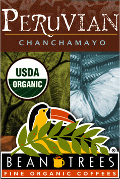 Beantrees Organic Peruvian Chanchamayo Whole Bean Coffee 12oz