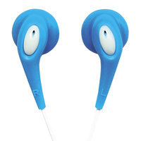 Naxa - Hi-Fi Super Bass Digital Stereo Earphones - Blue