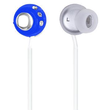 QuantumFX - Lightweight Stereo Earbuds - Blue