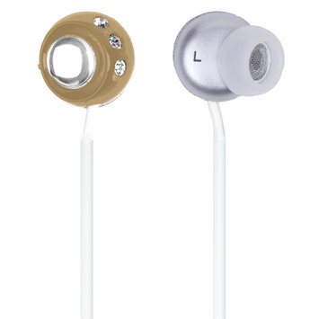 QuantumFX - Lightweight Stereo Earbuds - Brown