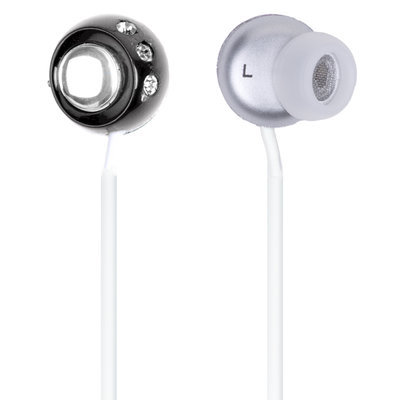 QuantumFX - Lightweight Stereo Earbuds - Black