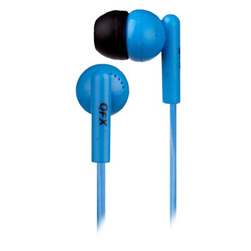 QuantumFX - Noise Isolation Earbuds - Blue