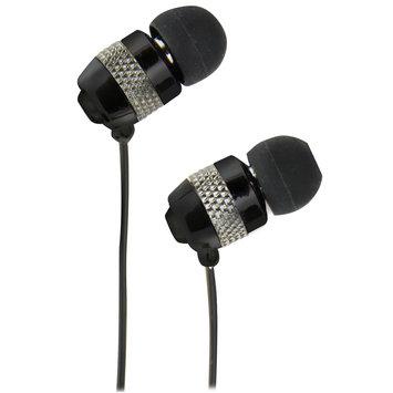 QuantumFX - Universal Handsfree Earphones with In-Line Microphone - Black