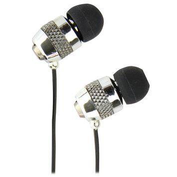 QuantumFX - Universal Handsfree Earphones with In-Line Microphone - Silver