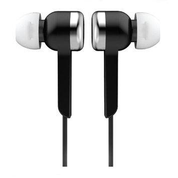 Supersonic Digital Stereo Earphones - Stereo - Black - Wired - Earbud - Binaural - In-ear