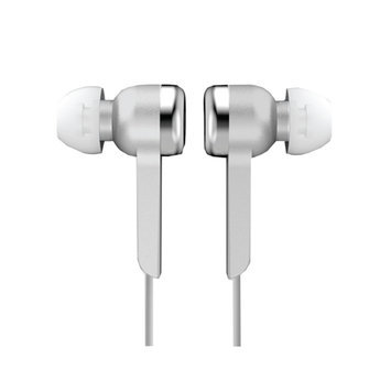 Supersonic IQ Sound Digital Stereo Earphones - Stereo - Silver - Wired - In-ear