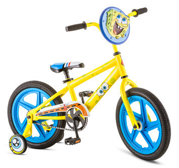 Pacific Cycle Boys' 16 inch Sponge Bob Bike